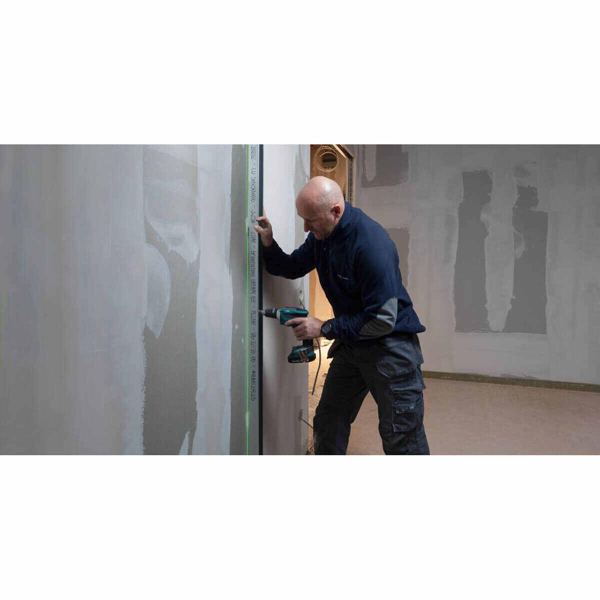 Green Beam Laser for Wall Framing