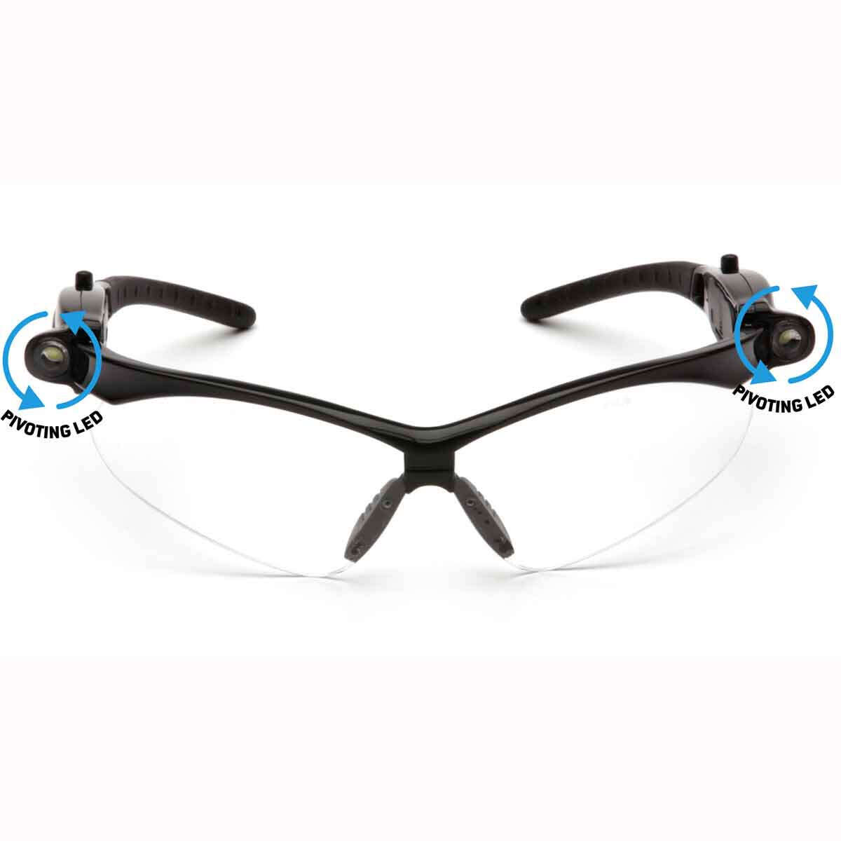 SB6310STPLED Pyramex PMXTREME LED Safety Glasses