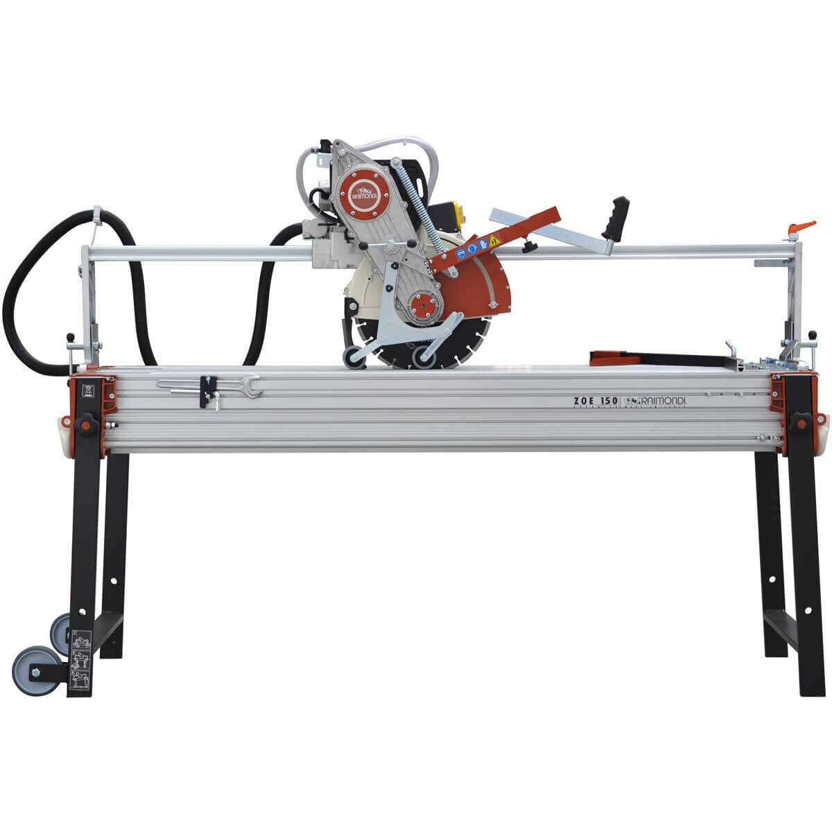 Raimondi Zipper Advanced 150 Rail Saw side view