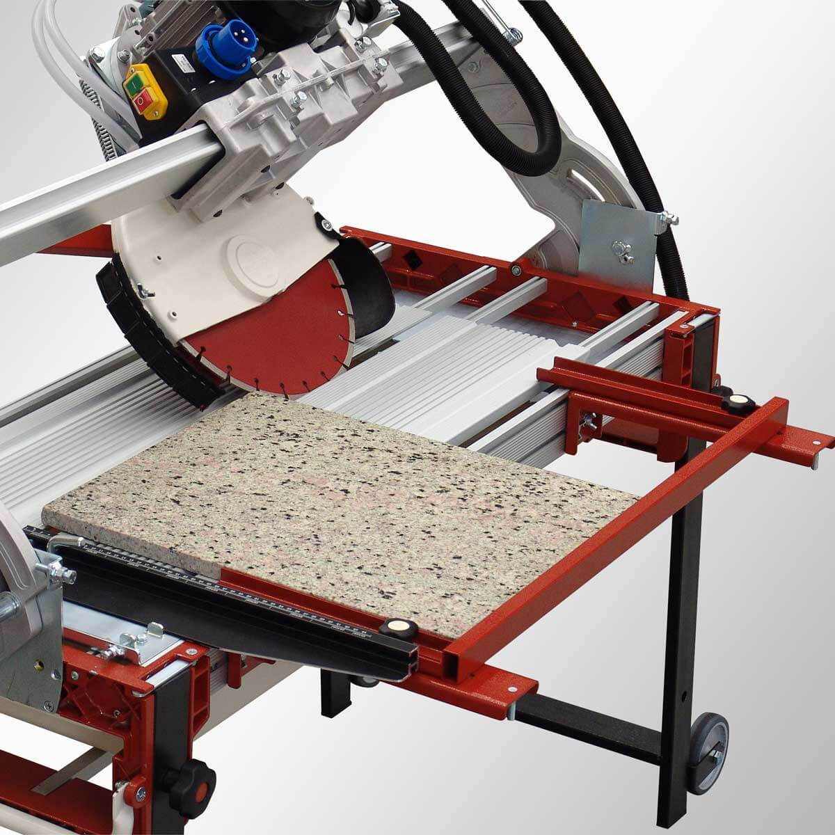Raimondi Zipper Advanced Rail Saw optional side extension square