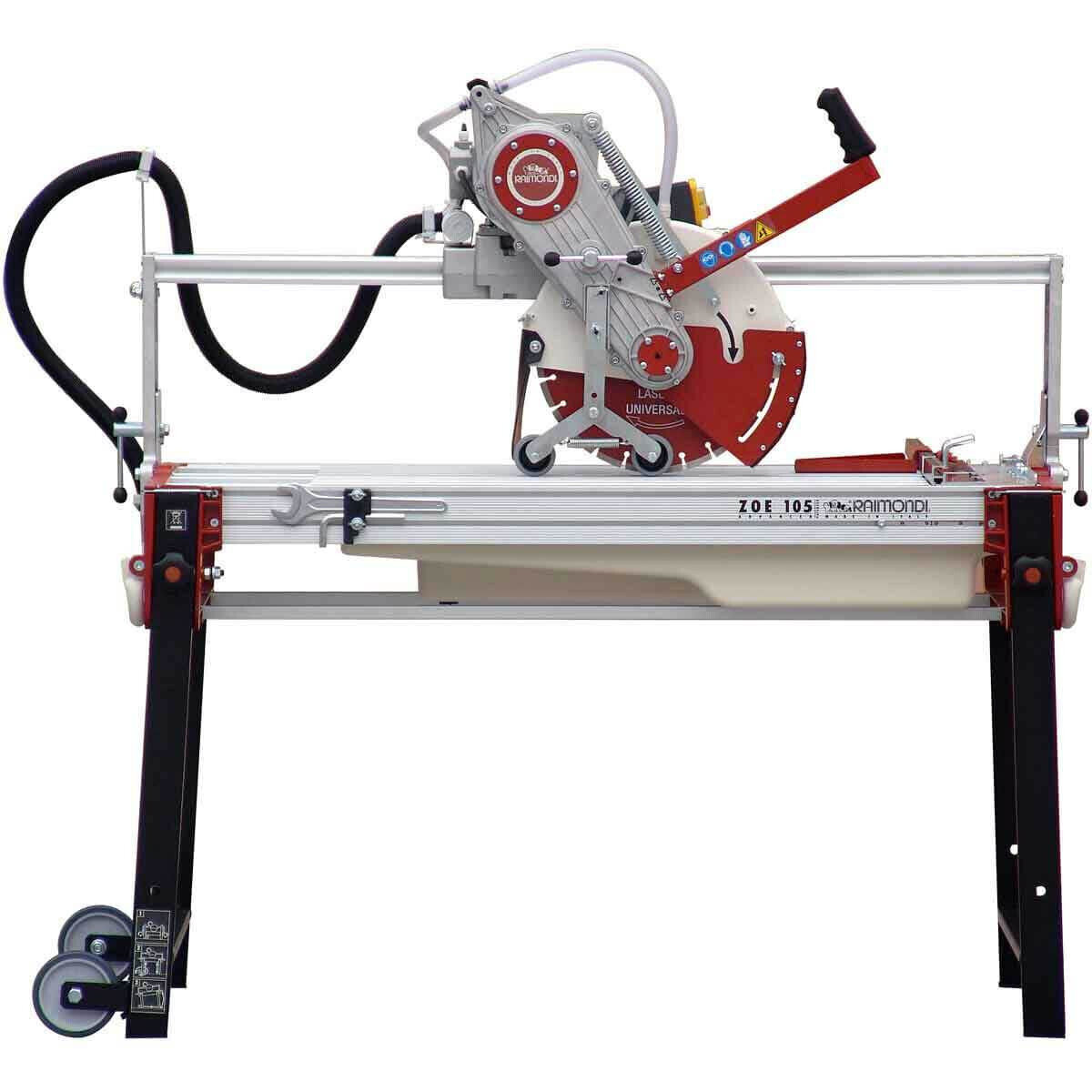 Raimondi Zipper Advanced 105 Rail Saw side view
