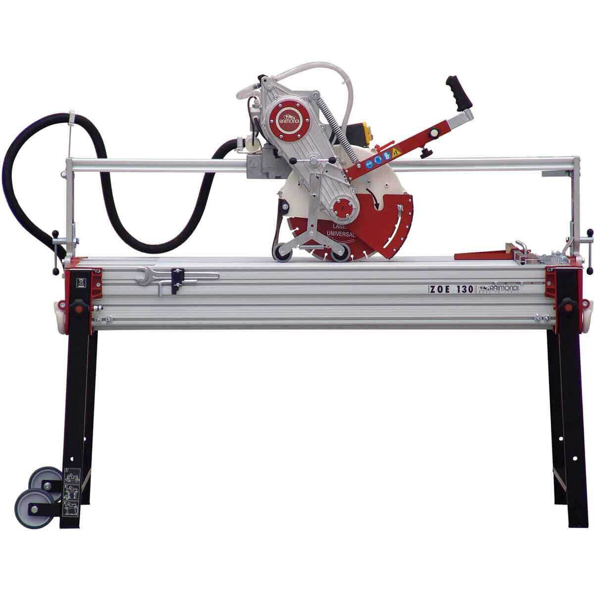 Raimondi Zipper Advanced 130 Rail Saw side view
