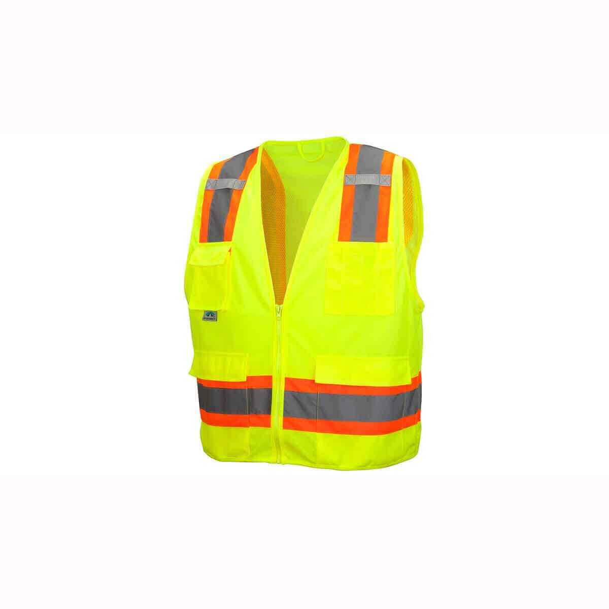 Pyramex RVZ24 Neon Line Safety Vests