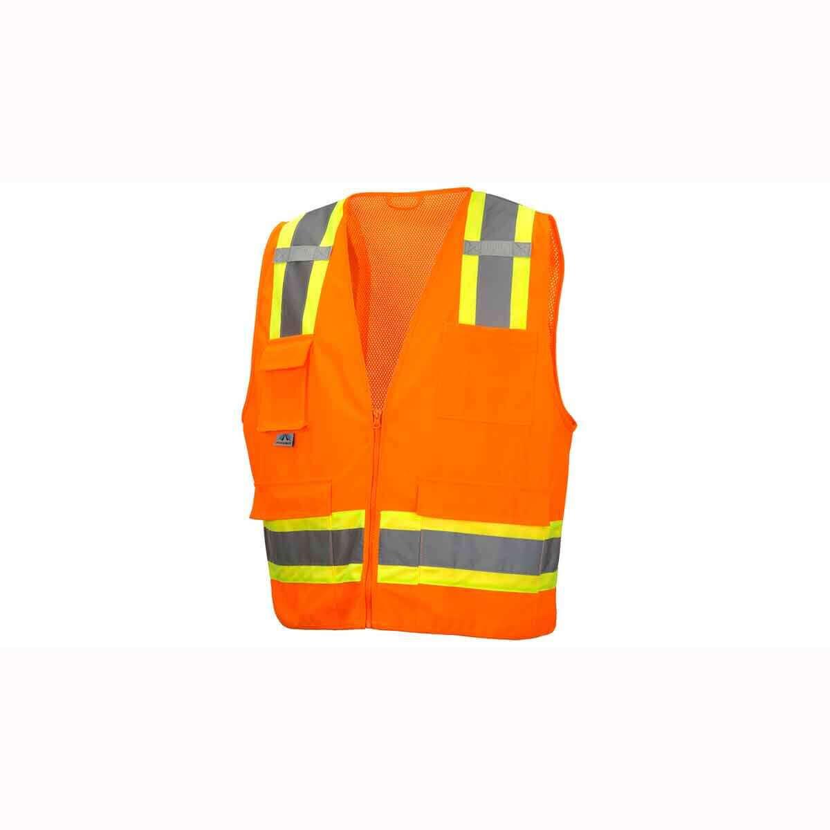 Pyramex RVZ24 Neon Orange Safety Vests