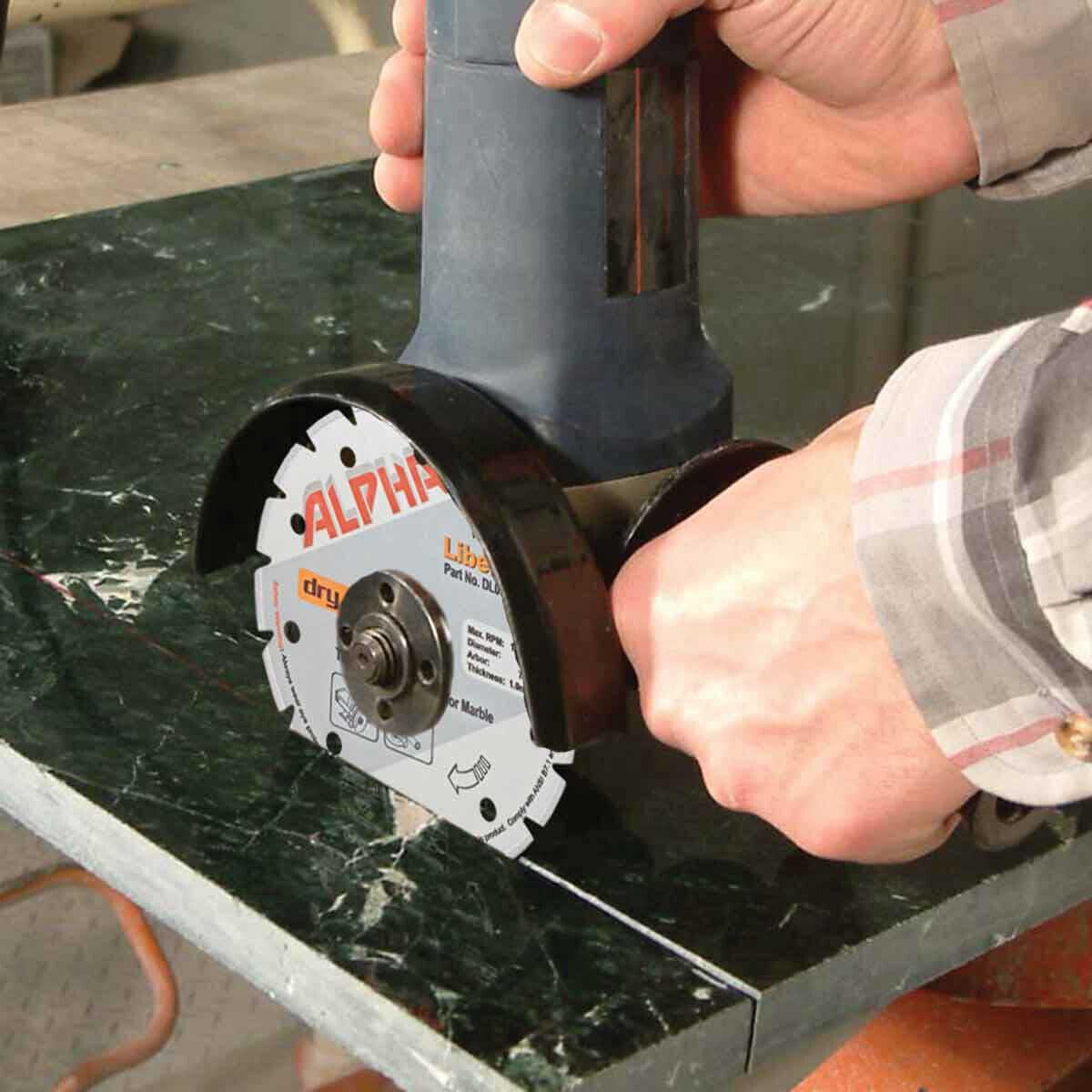 Alpha Libero Marble Diamond Blade grinder cutting