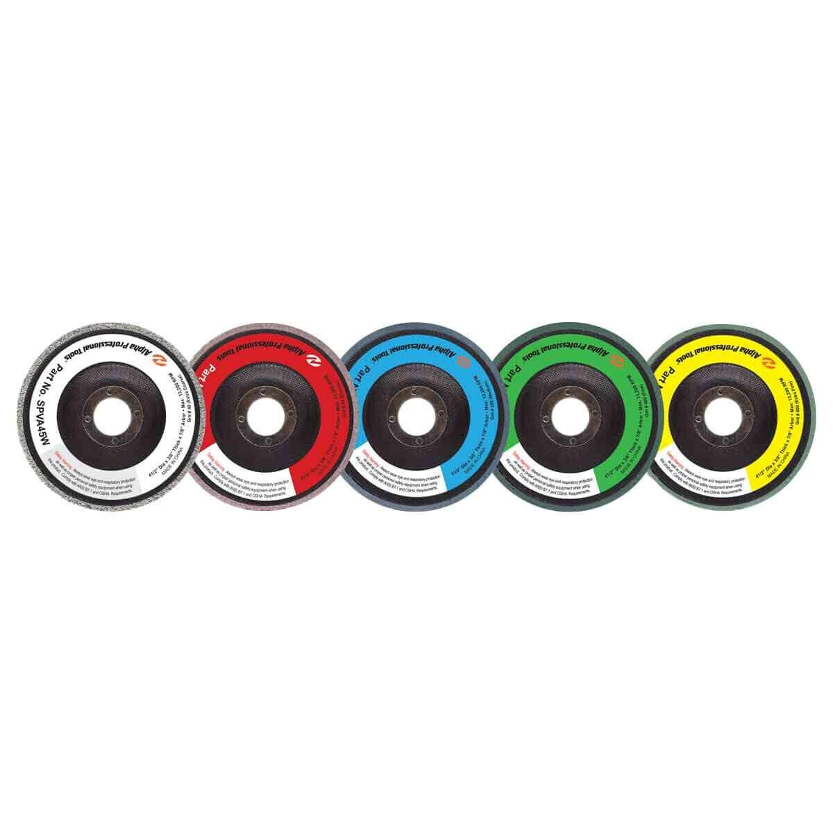 Alpha Tools PVA VP Style Dry Polishing Discs