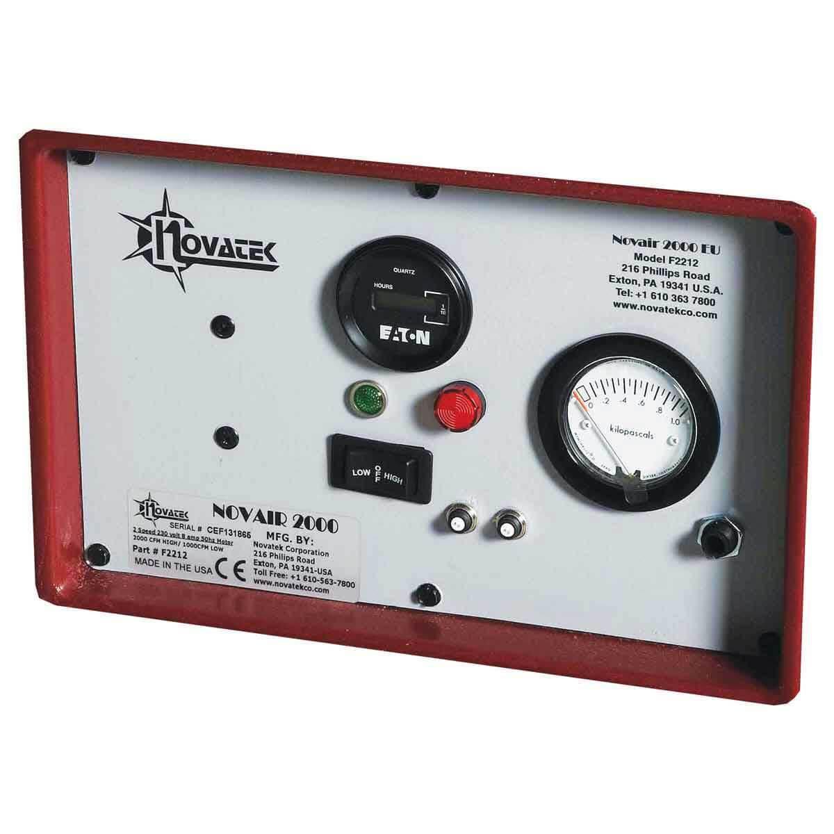 Novair 2000 Control Panel