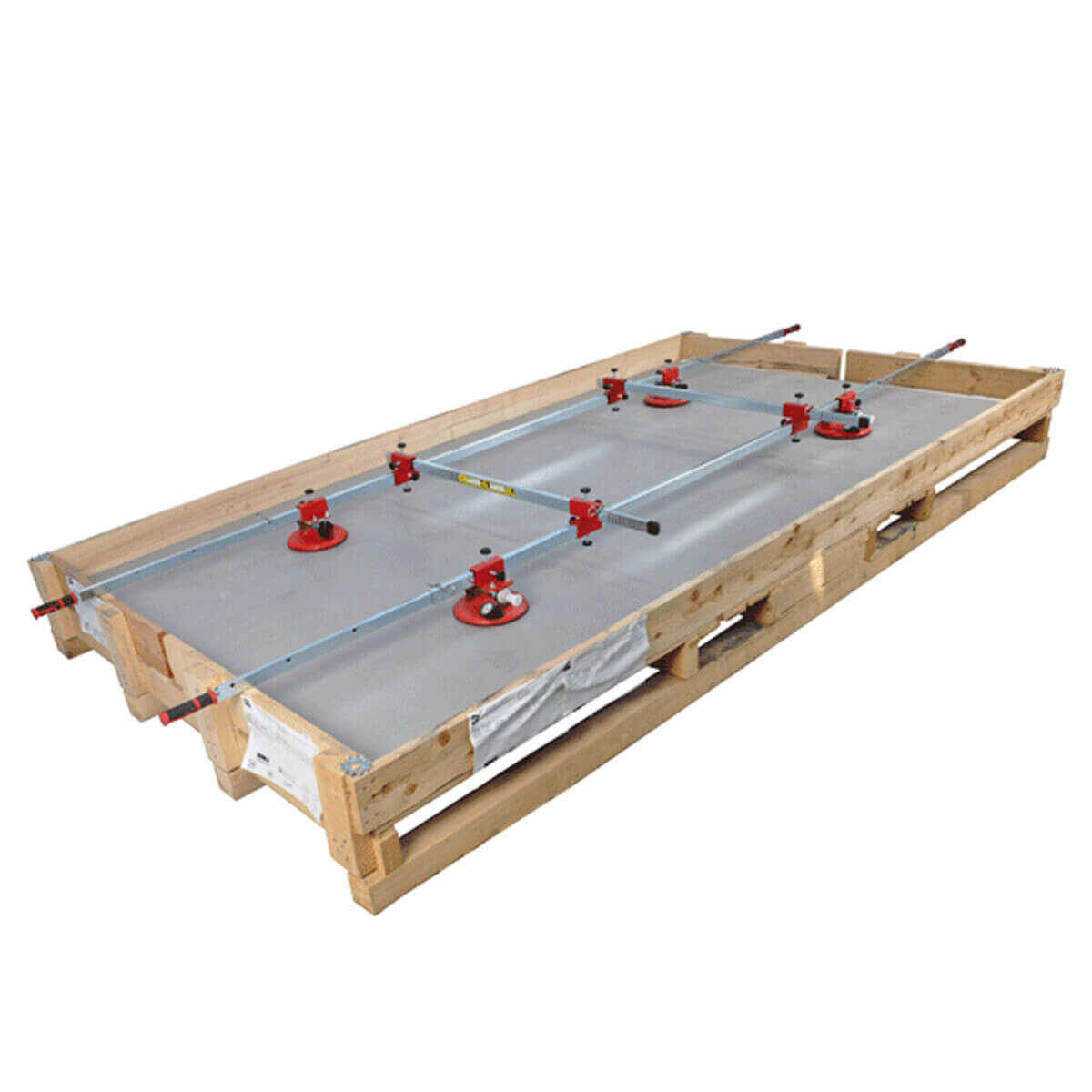 montolit The overall design and dimensions of this tool allow for removal of slabs from the packaging crates that they are shipped in, Made of galvanized steel to resist corrosion