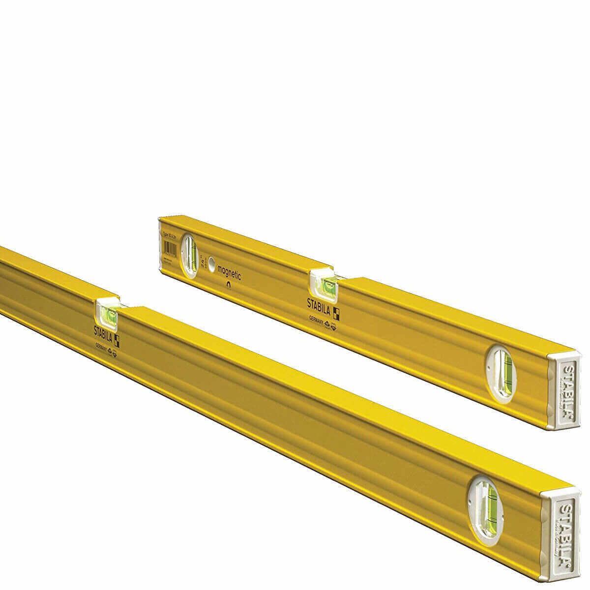 Stabila 24 and 48 inch Box Levels
