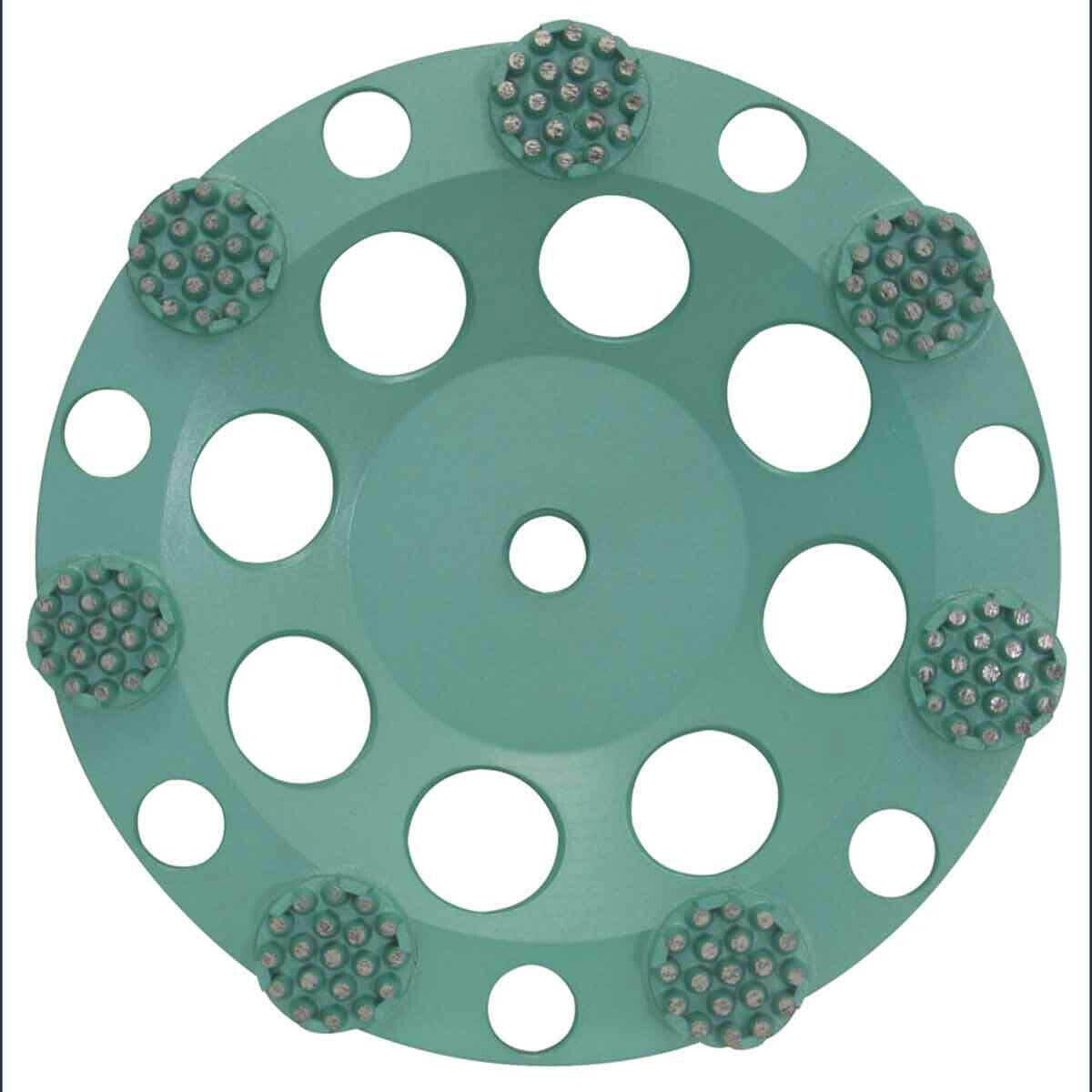 Pearl P4 7 inch Concrete & Natural Stone Button Cup Wheel