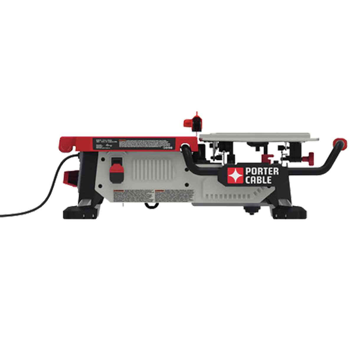 Porter Cable 7 inch Table Top Wet Tile Saw side view