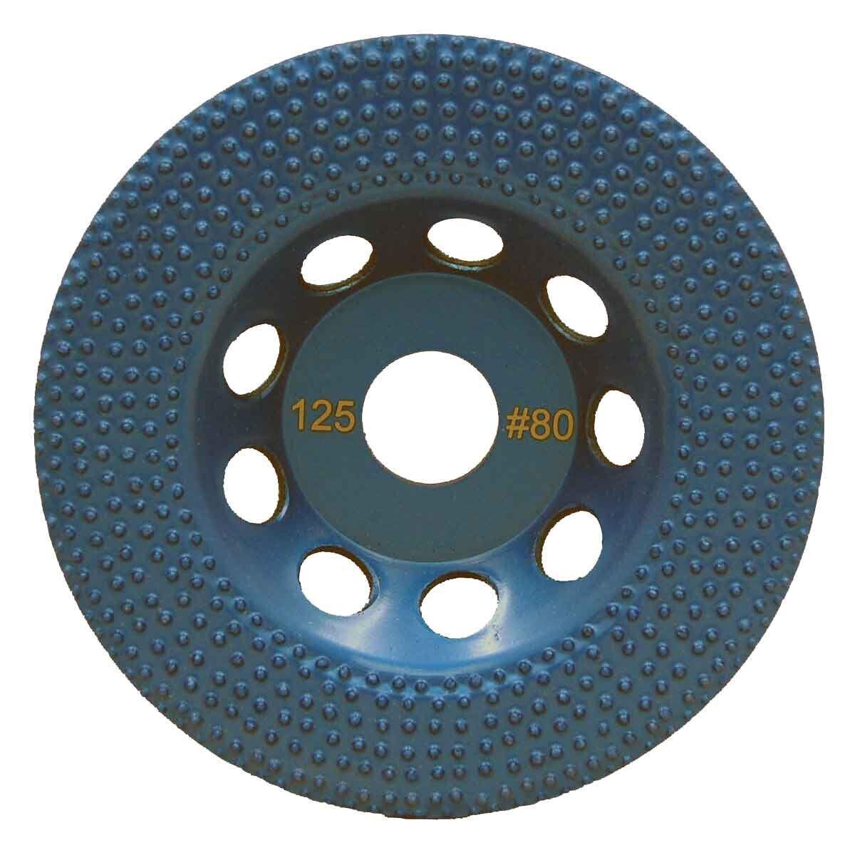 DITEQ 7 inch Vacuum Brazed Spike Disc - 80 Grit