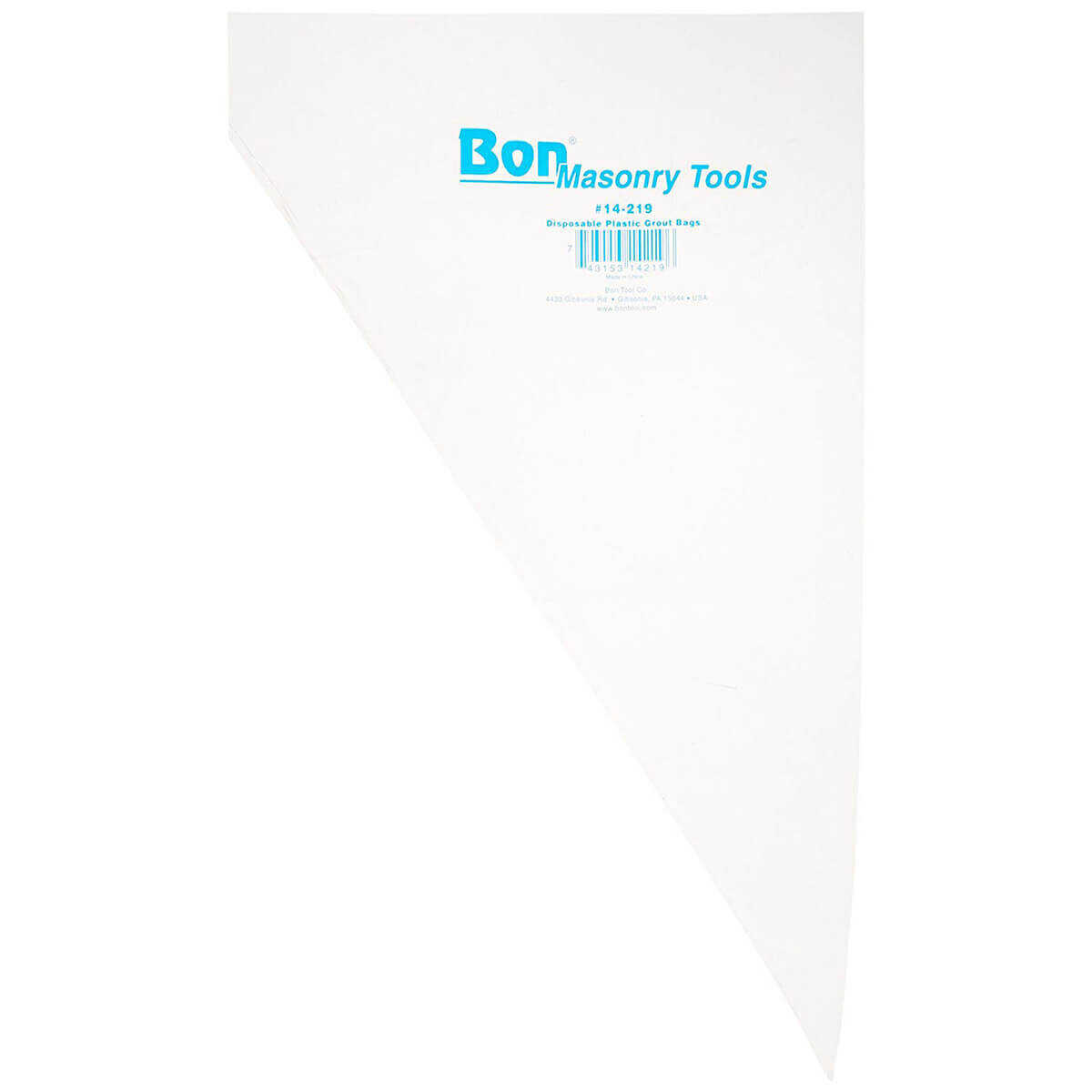 Bon Tool Disposable Grout Bags