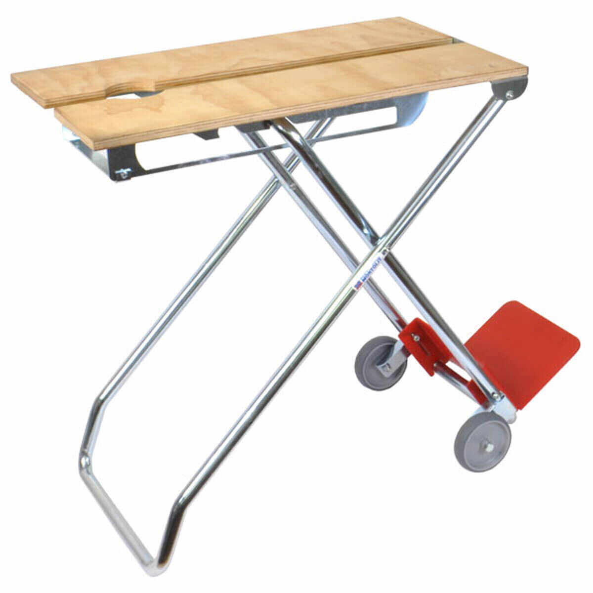 Montolit X-Works Workbench for Tile Layers, job site work bench