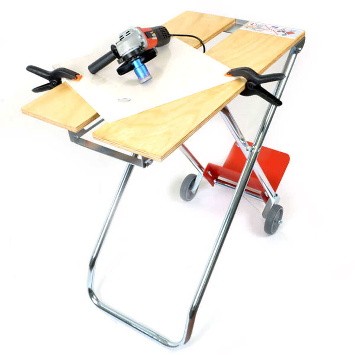 x-works portable bench for tile