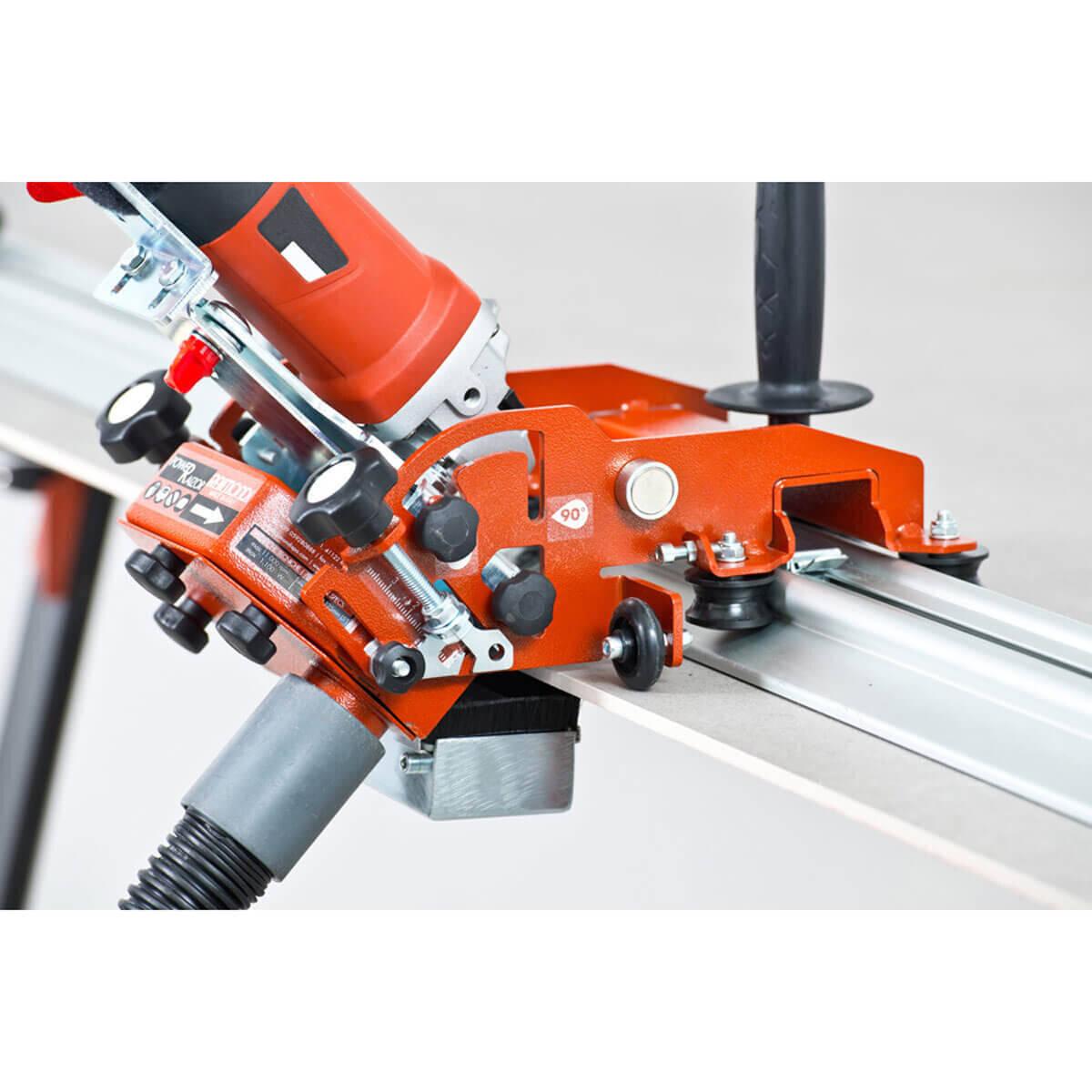 Dust Collector on Raizor Grinder Cart