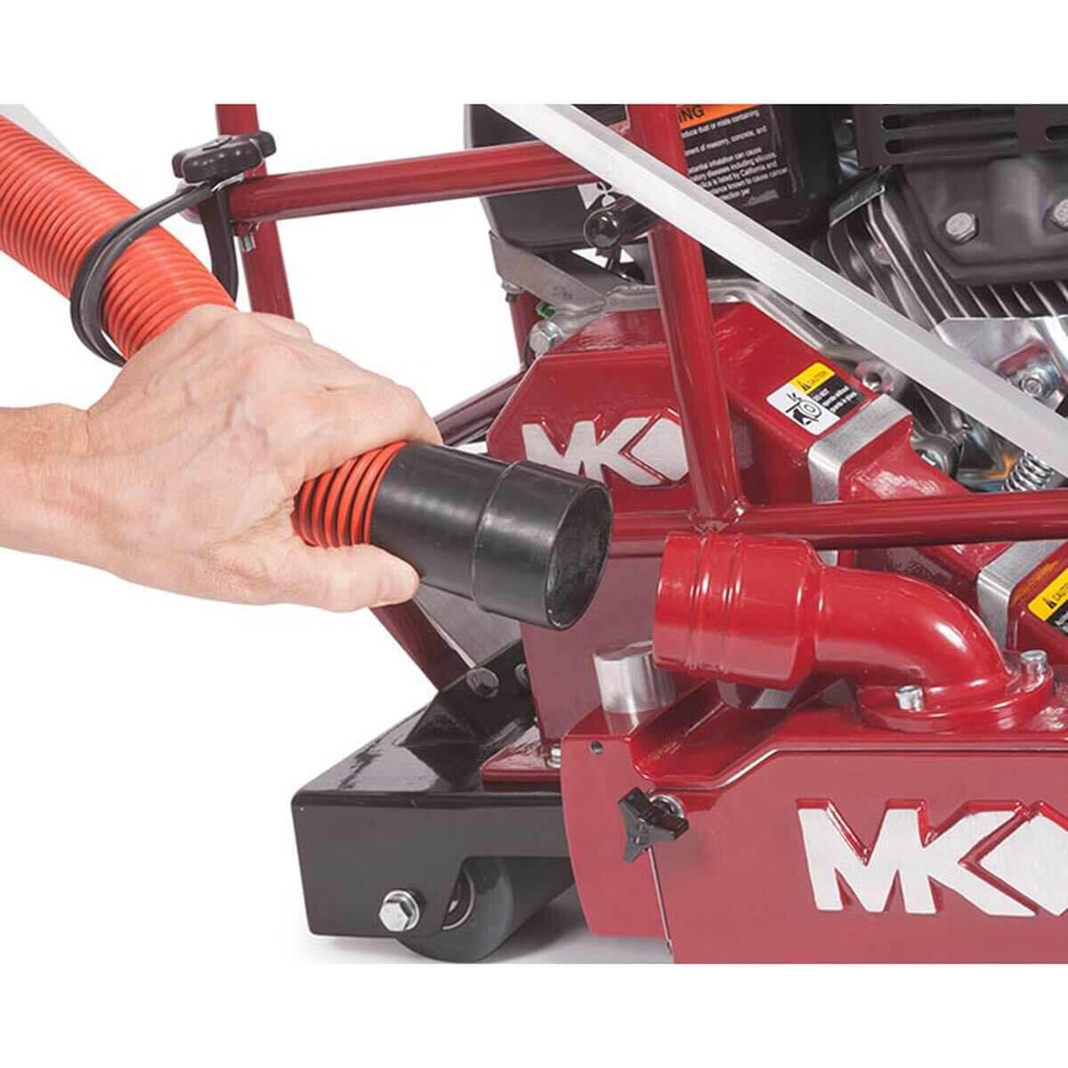 MK Diamond SRX-150 Saw Vacuum Dust Control Port