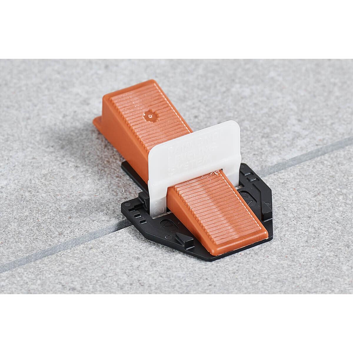 Raimondi Protecting Platform with Tile Leveling Clip and Wedge