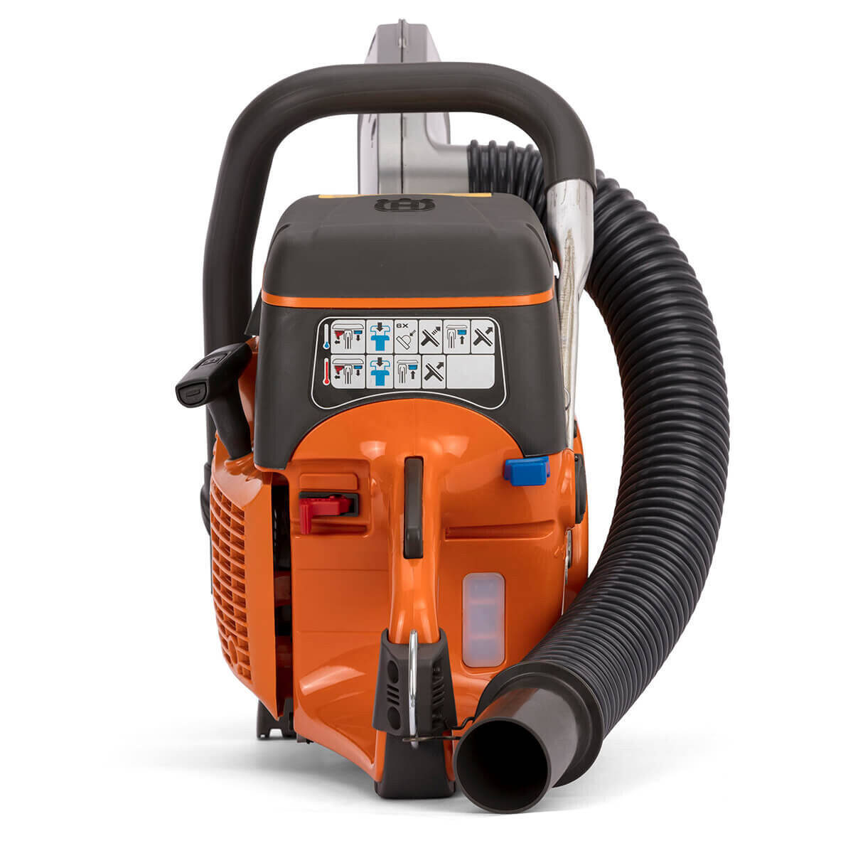 Husqvarna K770 VAC with Hose Attachment for Dust Extraction