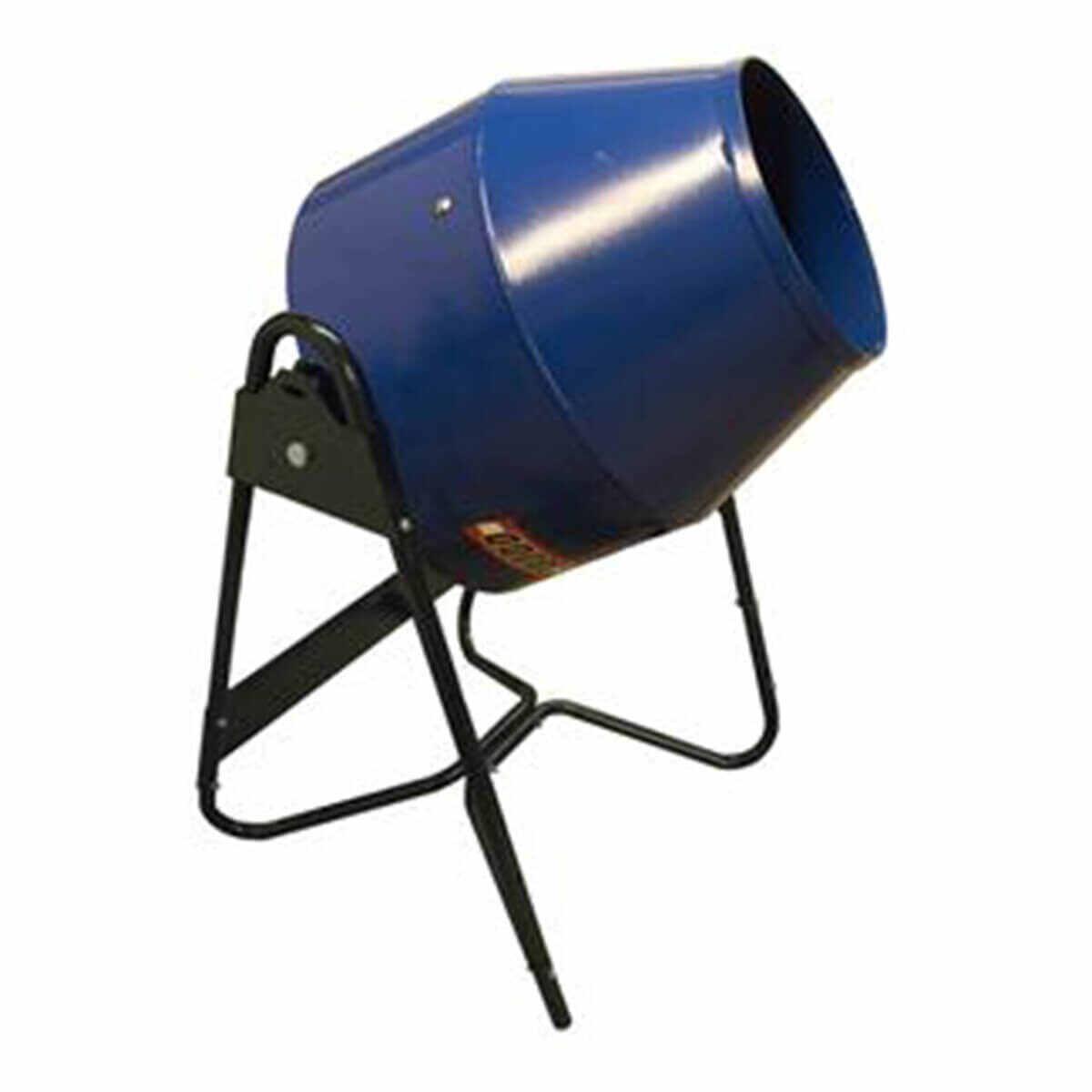 Marshalltown 300DDNP Steel Drum Utility Concrete Mixer