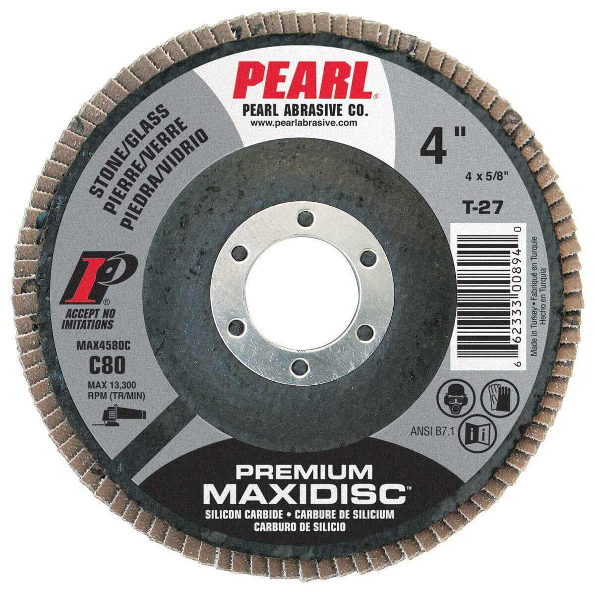 Pearl 4 inch Maxi Disc Carbide Sanding Discs