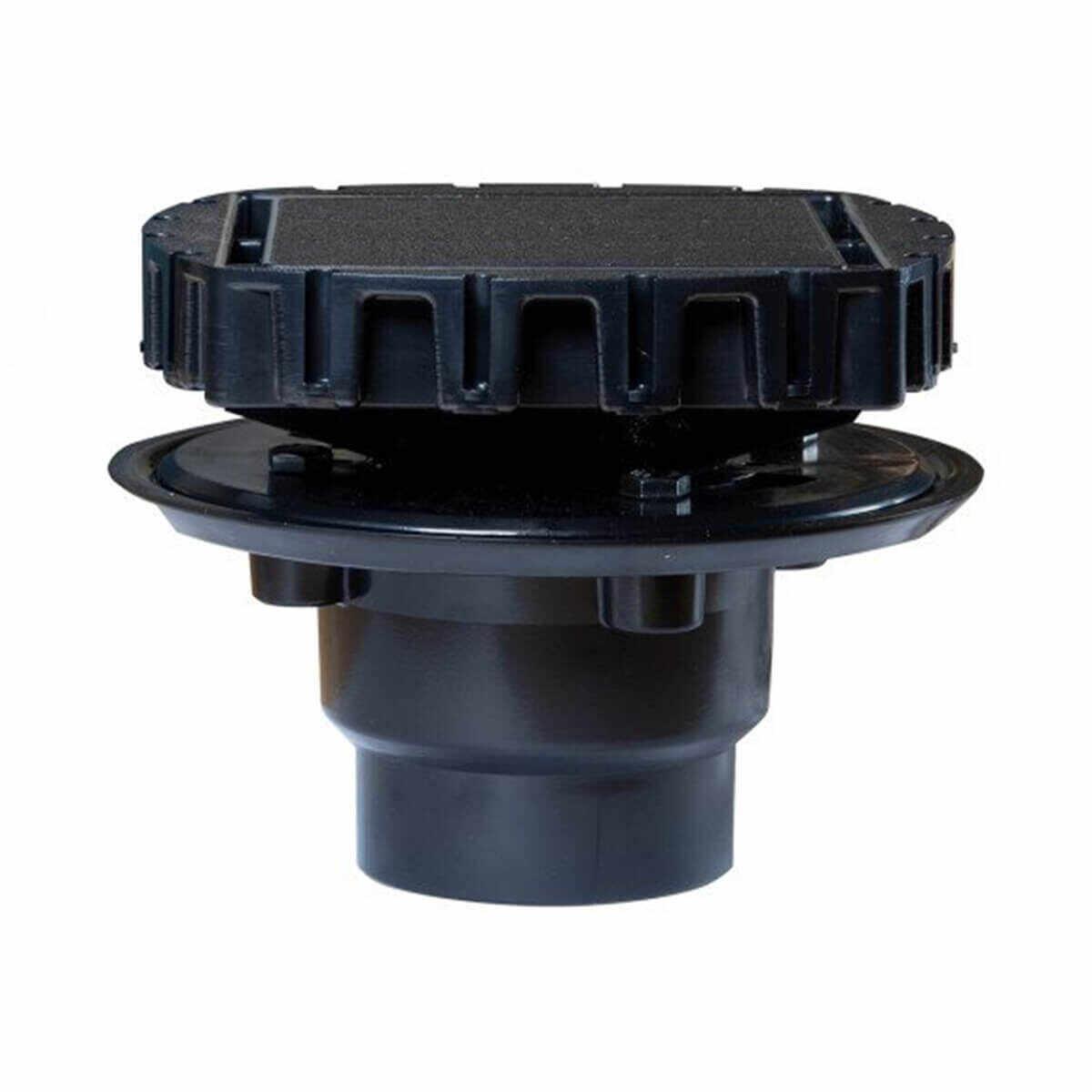 GPSD Goof Proof Square Drain Kit install a square shower drain Tile-on insert for uniform shower floor