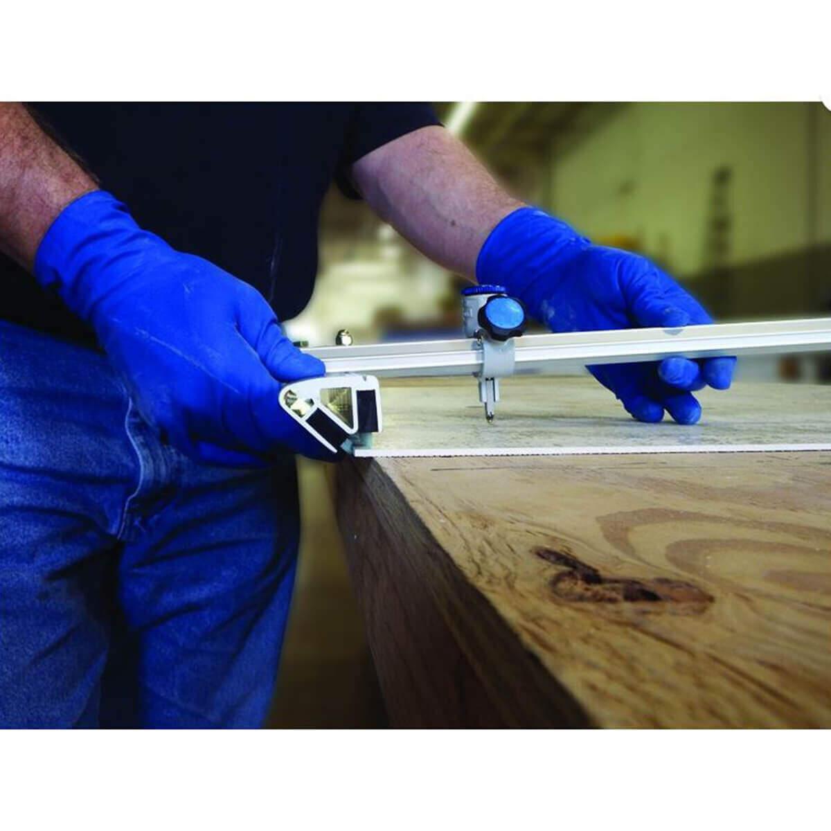 Alpha EZ Thin Panel Tile Cutters Action