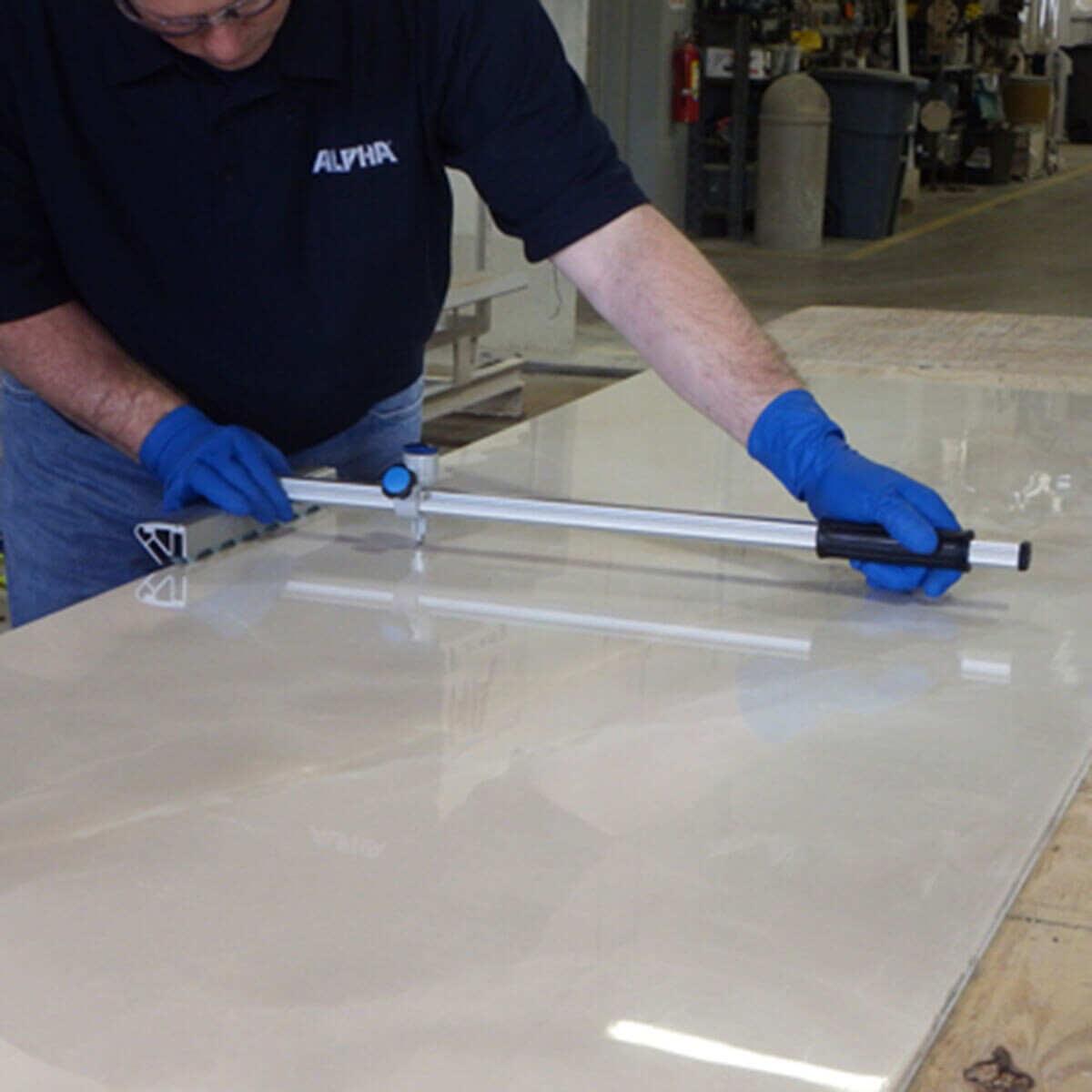 Alpha EZ Tile Cutter for Thin Panel Sheets