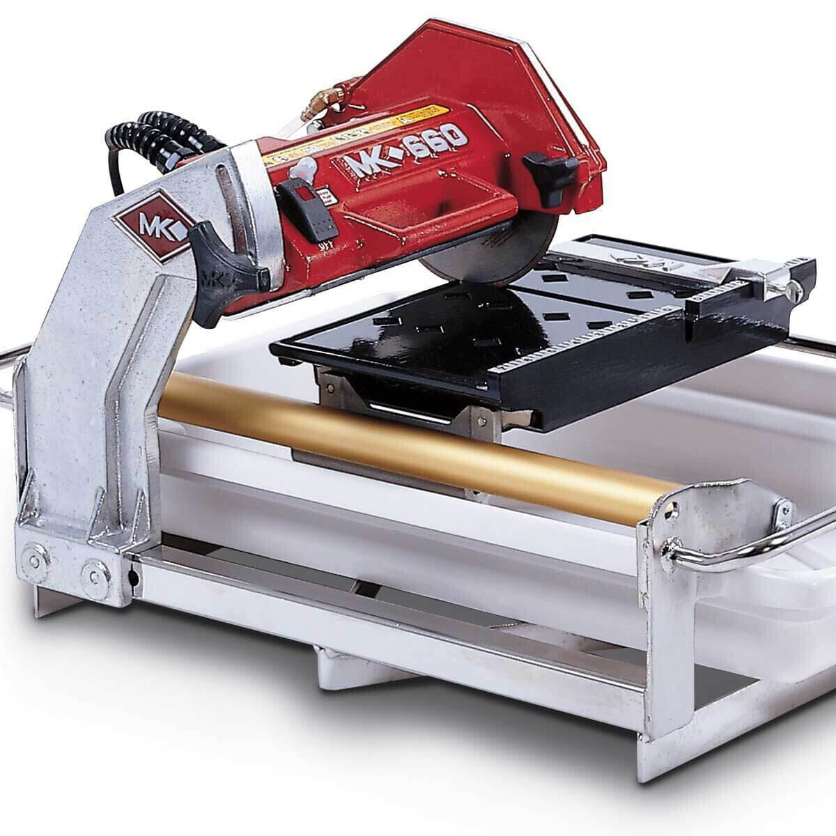 MK Diamond MK-660 Wet Tile Saw Side