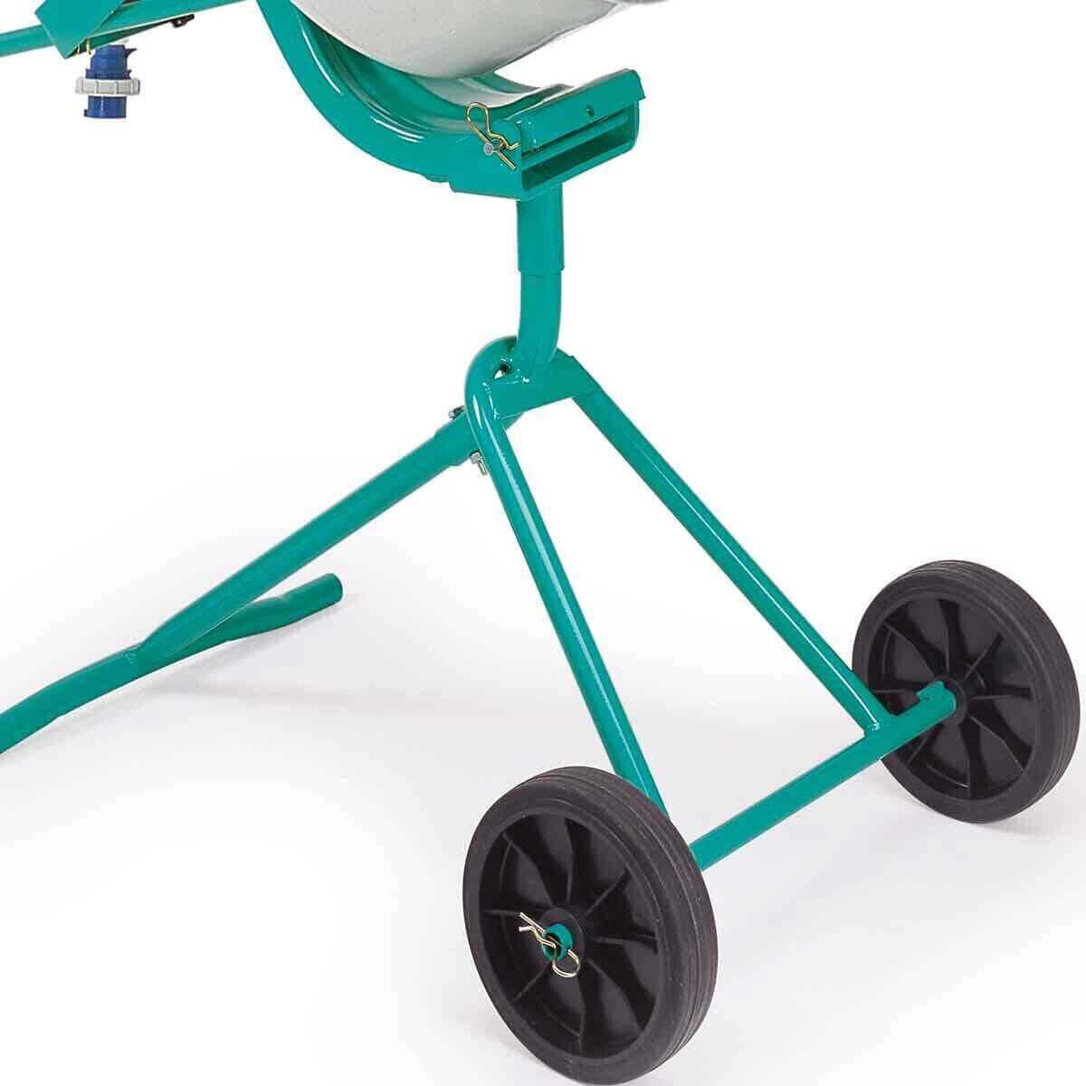 Imer Portable Cement Mixer Wheels