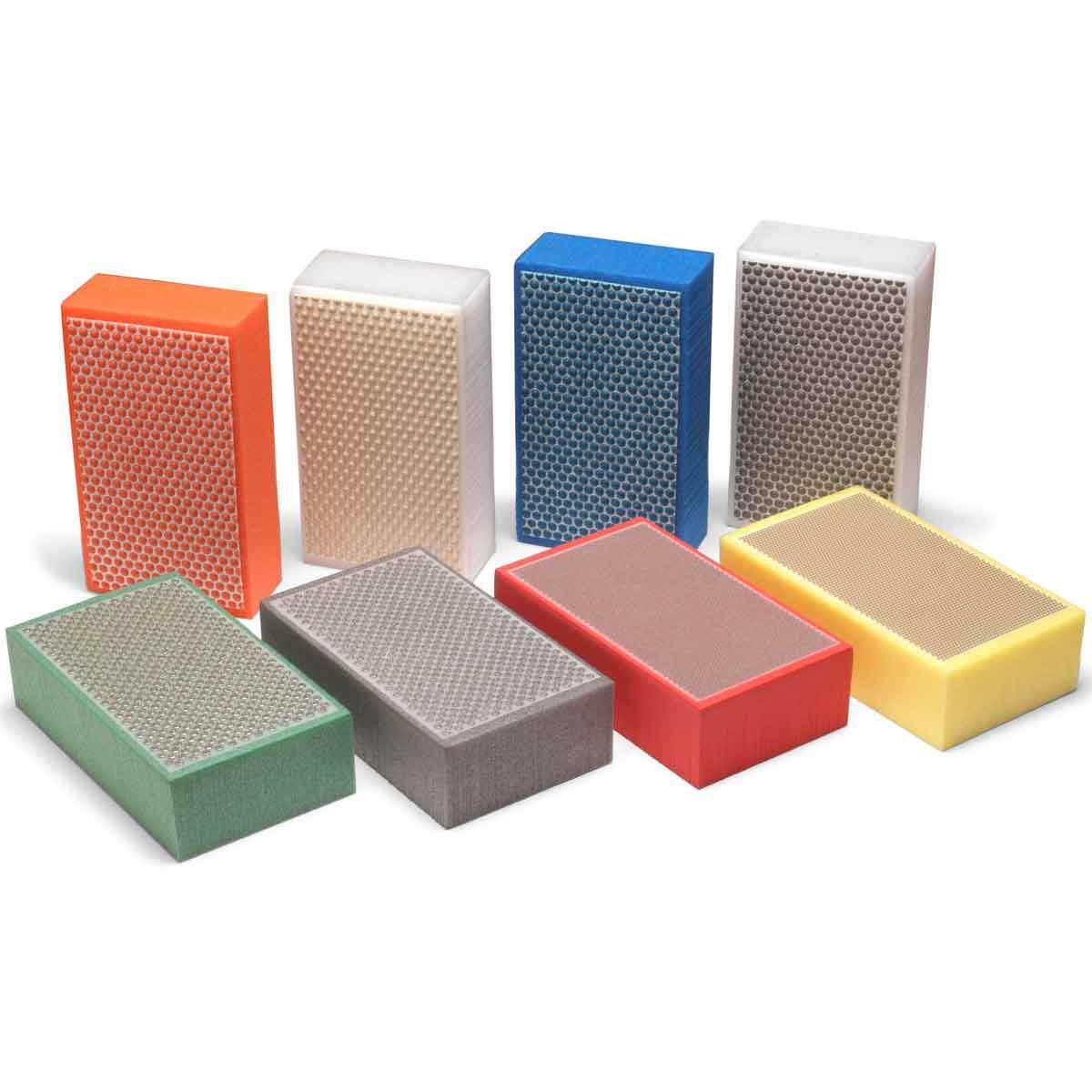 Abrasive Technology Foam Diamond Hand Polishing Pad Kit
