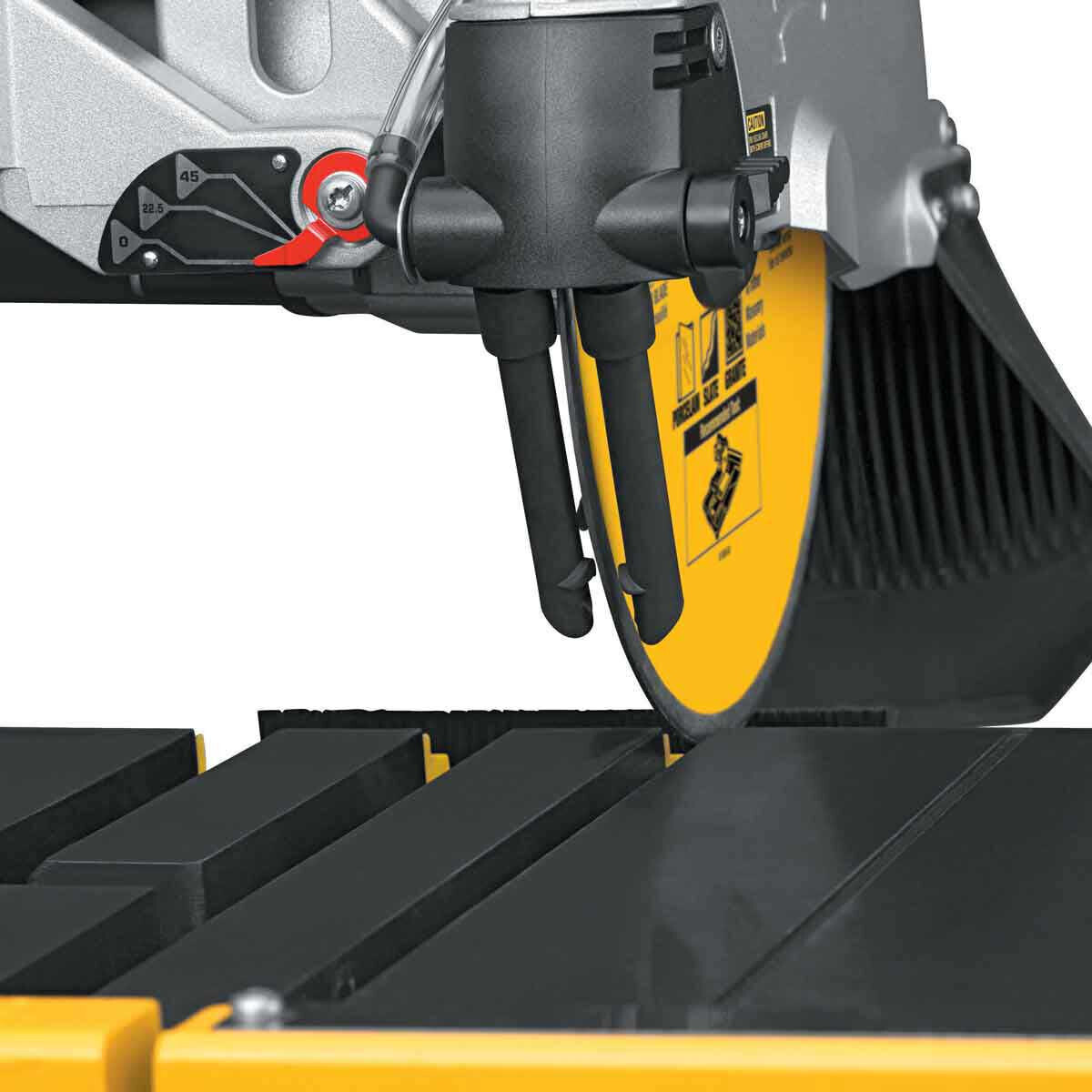 D24000 Tile Saw adjustable water feed