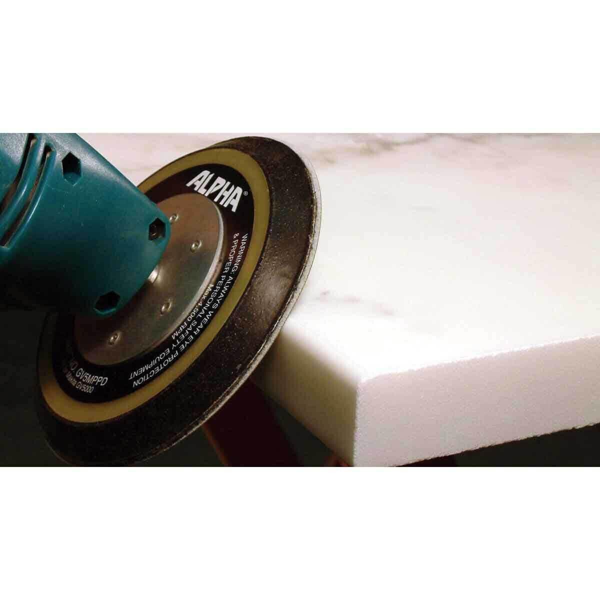 Alpha Sandpaper for Polishing Stone Edges