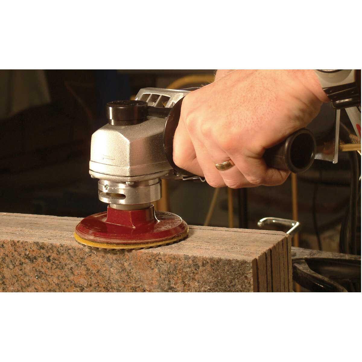 Alpha Hook and Loop Backer Pad for Polishing Granite