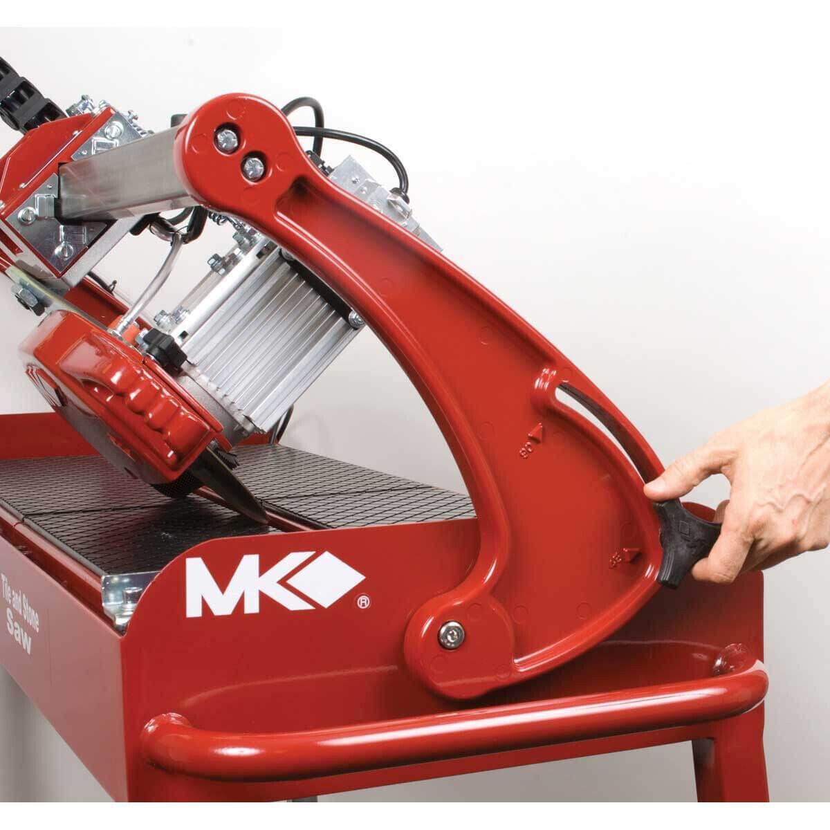 mk 212 wet saw miter cut