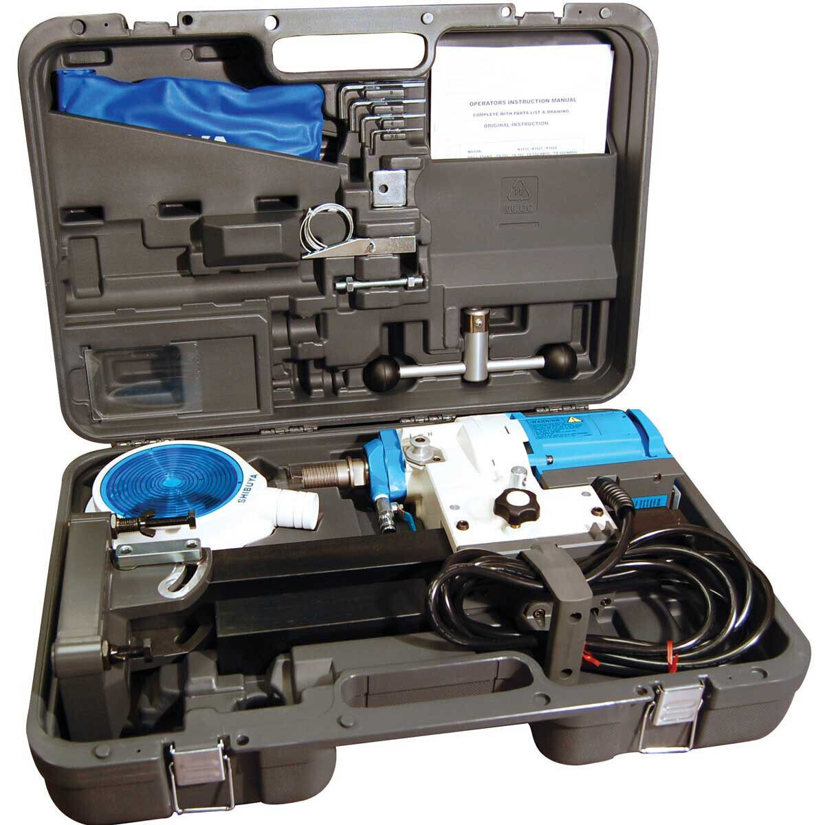 Diteq Blu-Drill TS-162 Core Drill with Carrying Case