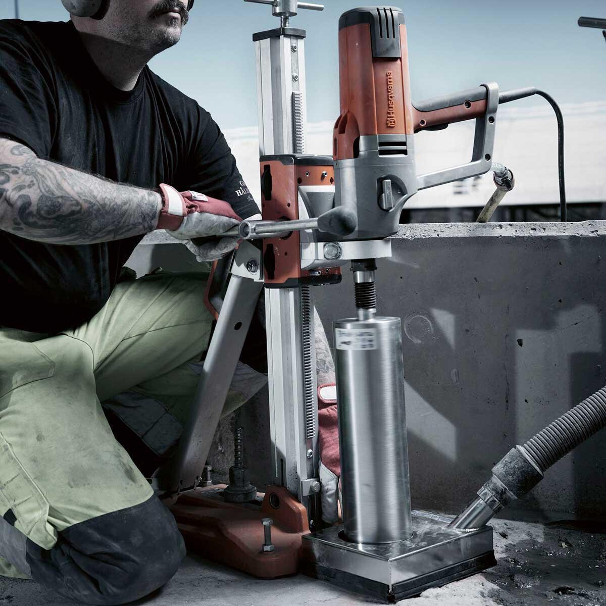 Husqvarna DS150 Concrete Core Drill Stand