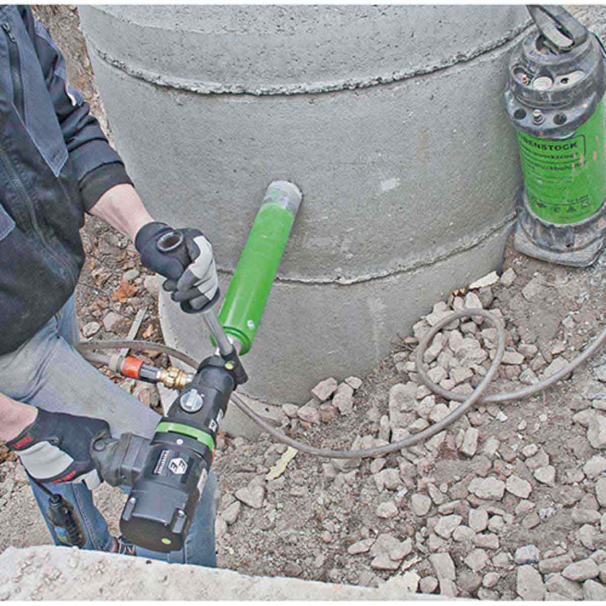 Eibenstock END130/3.1 Wet Concrete Core Drill