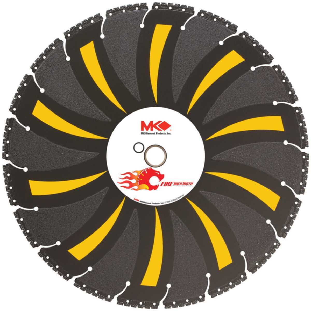 MK-404RCK Tiger Tooth Diamond Blade