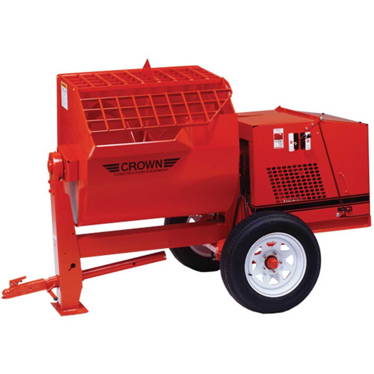 CrownHydraulic Towable Mortar Mixer