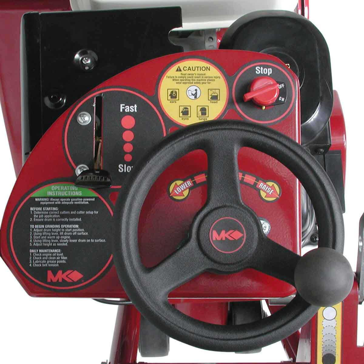 MK-SG-9 Scarifier Controls