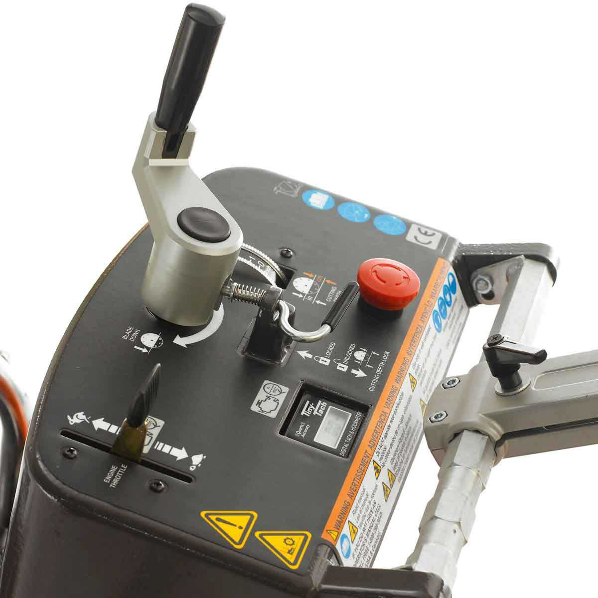 Husqvarna FS413 Depth Control Panel