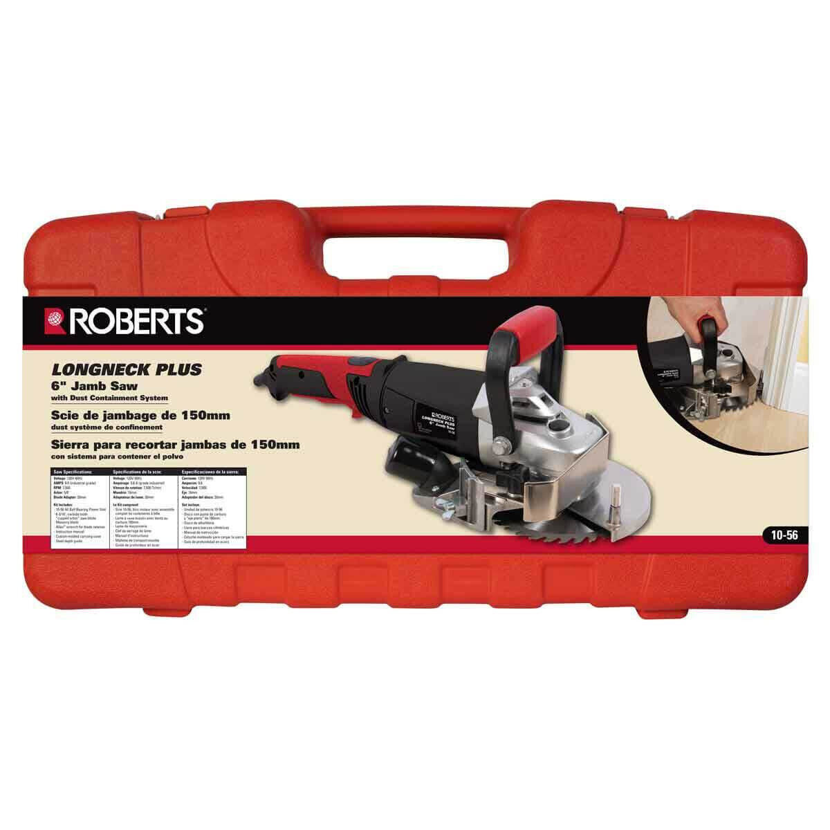 Roberts by QEP 10-56 Long Neck Plus Jamb Saw carrying case