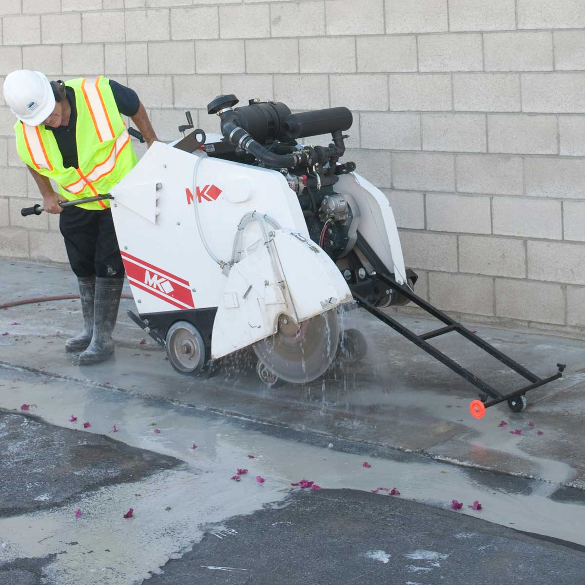 MK-4000 Road Cutting Concrete Saw