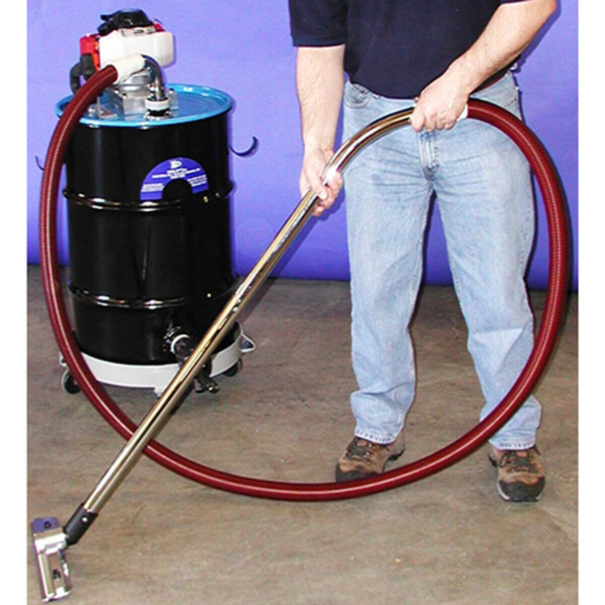 Kor-It KV-55 Powered Vacuum with Metal Floor Wand