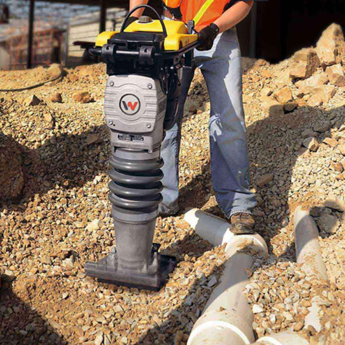Wacker Neuson Rammer for Underground Pipe Installation