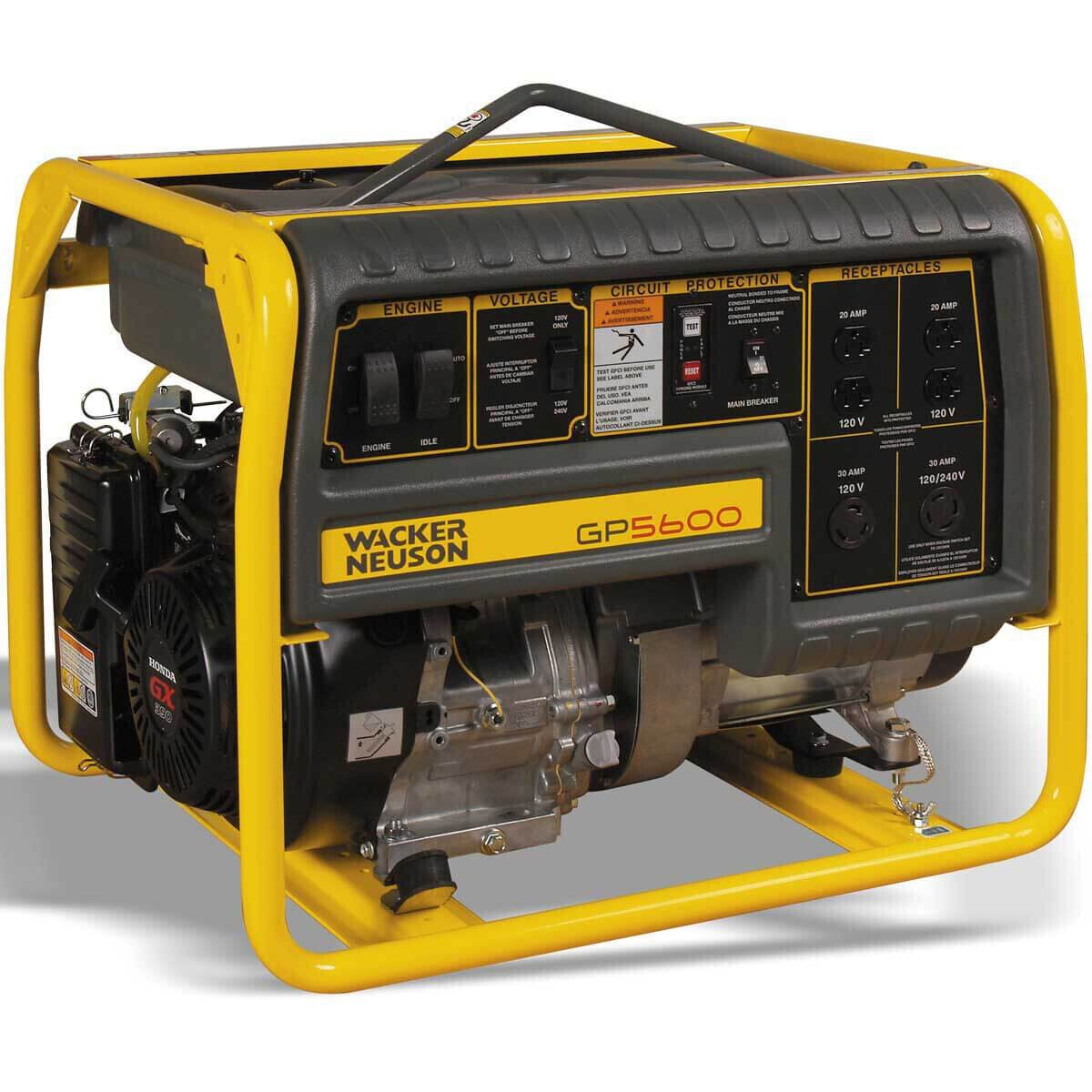 Wacker GP 5600A Portable Generator