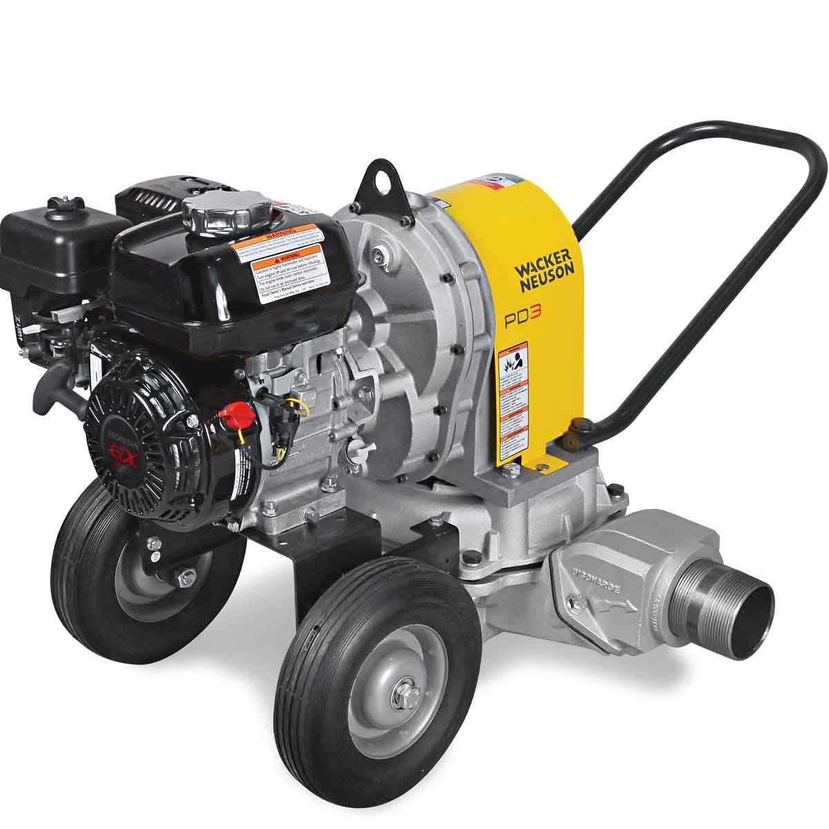 Wacker PDT 3A Pump with Honda Engine