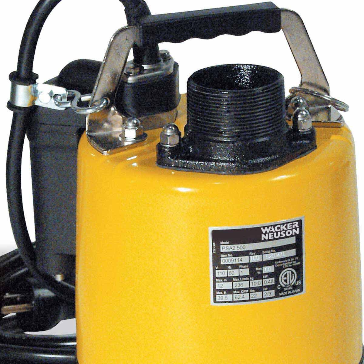 Wacker PSA 2 500 Pump Handle