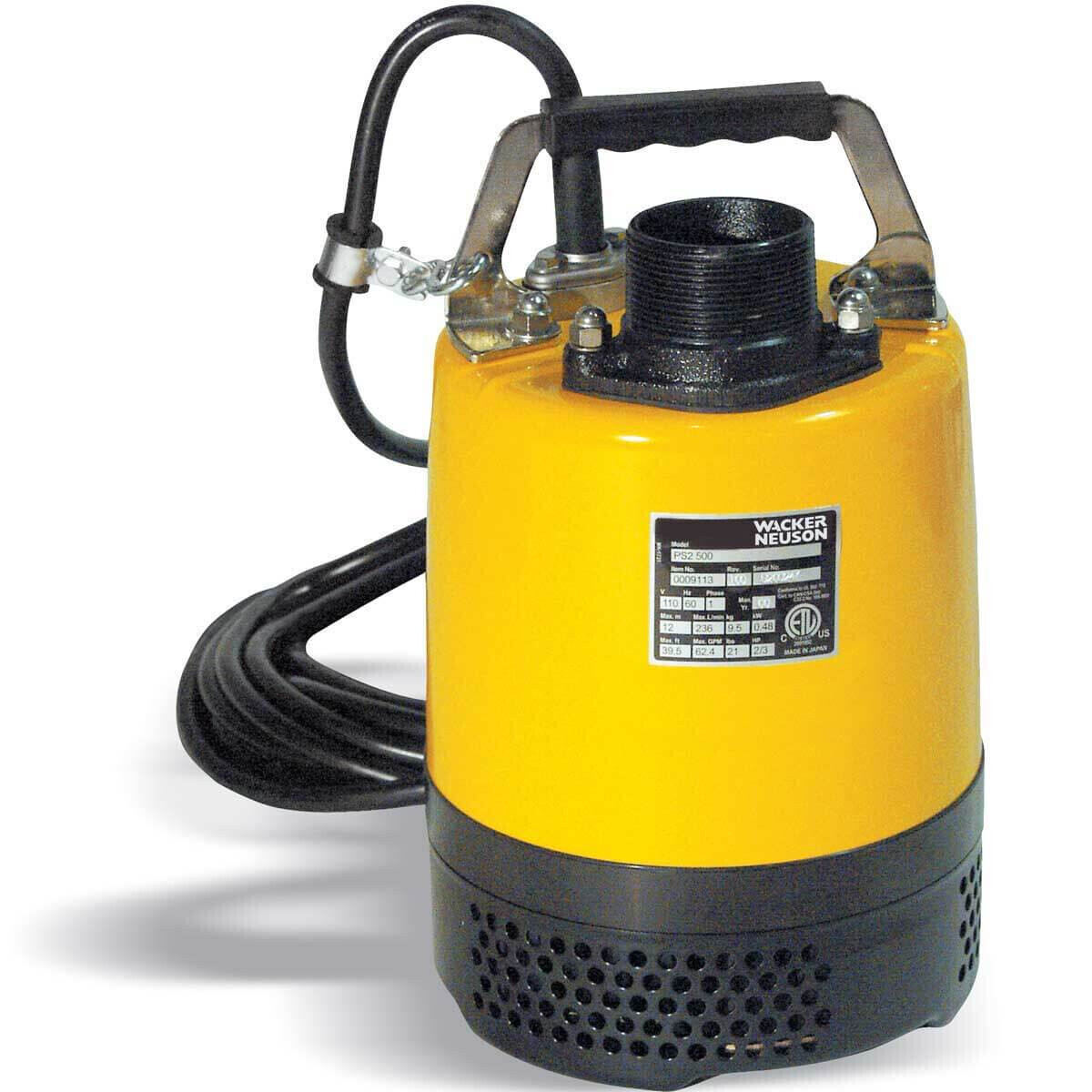 Wacker Neuson PS2 Water Pump